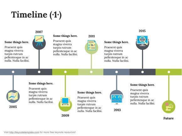 6 keynote timeline templates website News to Go 3 Pinterest