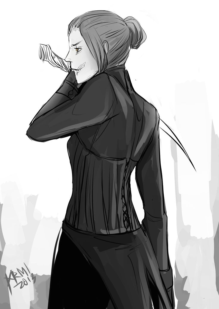 TID girls in their Shadowhunter gear: Sophie Collins