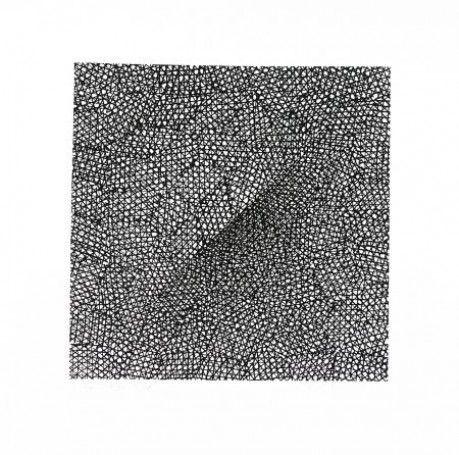 Cień, 1993/2005, serigrafia, papier, 20x20cm,