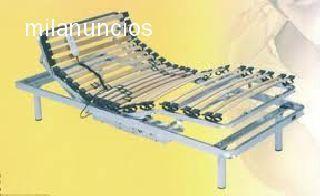 . cama articulada motorizada, 5 planos de articulacion, estructura de acero y laminas de haya al coste 250�, disponemos de amplia exposicion con variedad de articulos al coste, estamos en pol ind. de lorqui avd. principal junto autovia  BRICOMUR,  oferta v