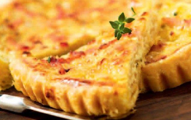 Σφολιάτα με τυριά και μπέικον - iCookGreek
