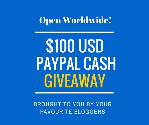 PayPal Giveaway Alert! $100 PayPal Cash for You- Open Worldwide!