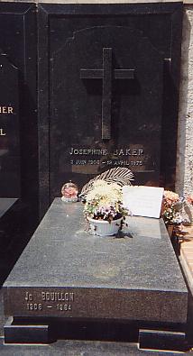 Joséphine Baker, cimetière de Monaco