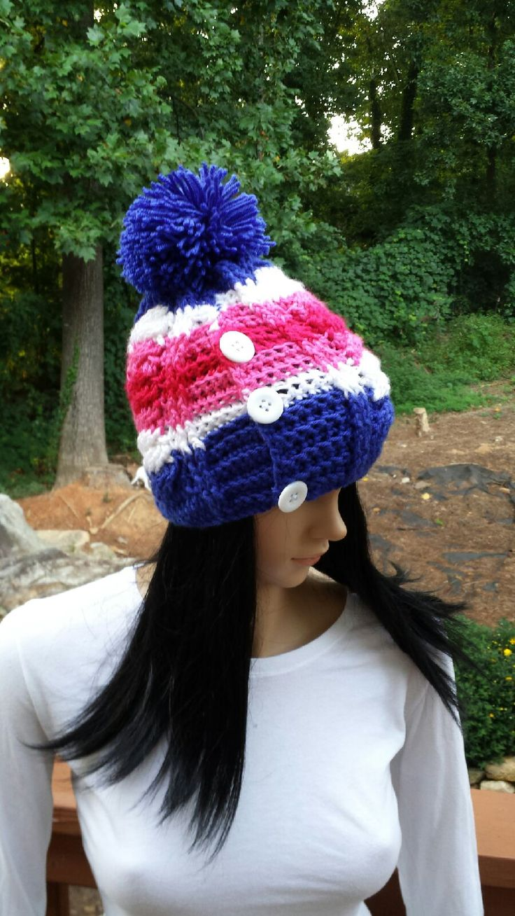 The 12 best Crochet Cable Hat images on Pinterest | Crochet beanie ...