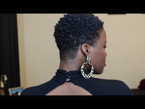 Moisturizing Dry, Natural Hair in 4 Steps | TWA | SHORT HAIR | COLORED HAIR - YouTube