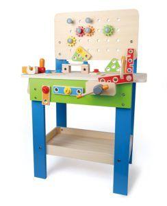 Sinnvolles und wunderschönes Spielzeug für Kleinkinder zwischen 1-3 Jahren für Weihnachten. Die Auswahl ist fast ausschließlich aus Holz und ebenso pädago