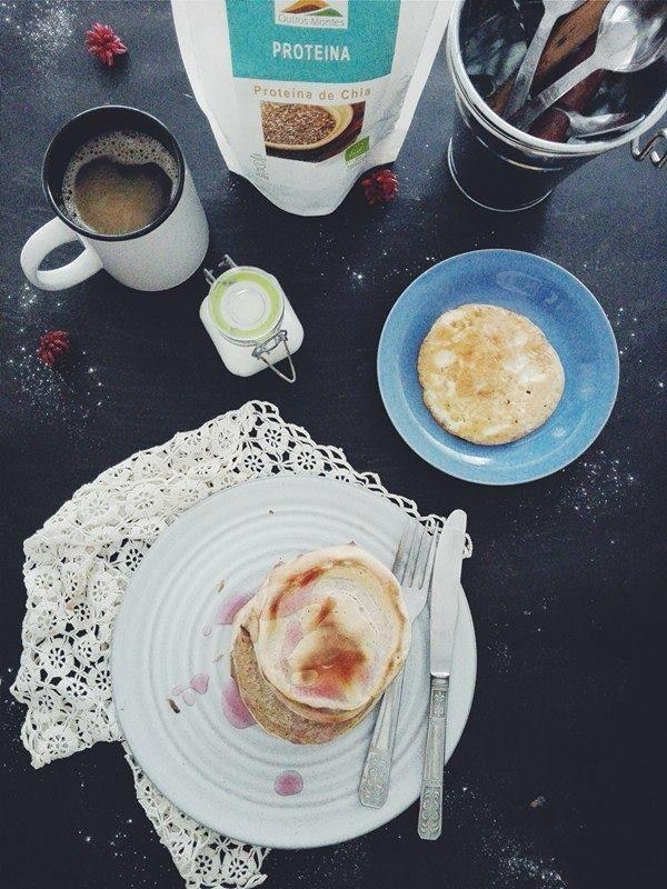 Io Healthy Kitchen: Panquecas de aveia e proteína de chia