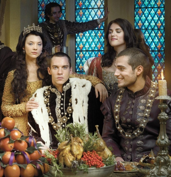 The Tudors -- my FAVORITE SEASON of all (season 1)... look at Henry Cavill over there.  PERFECTION.