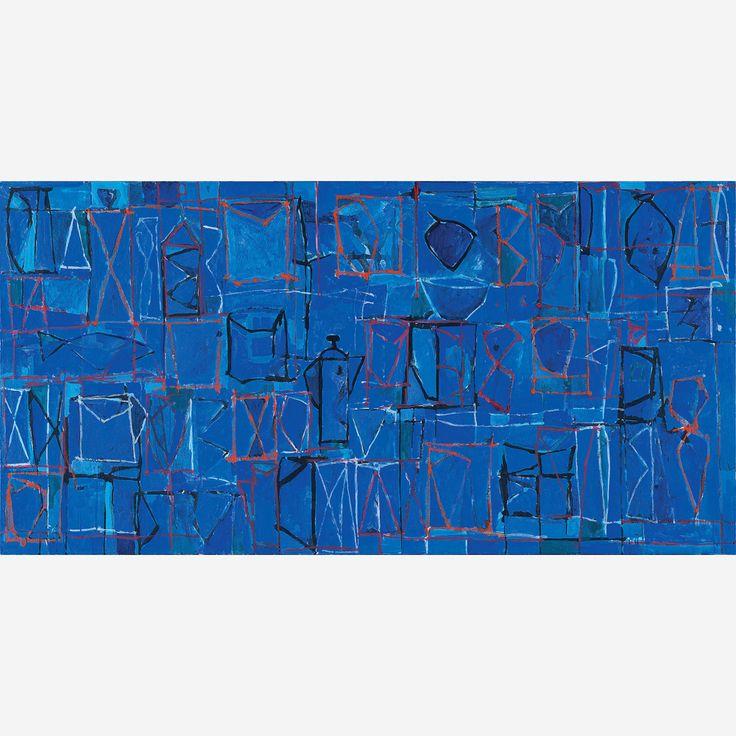 Obra de Gonçalo Ivo no leilão 27 de Novembro de 2014 da Bolsa de Arte