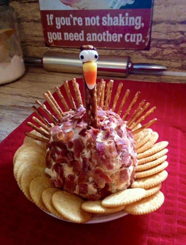 Tom turkey cheese ball