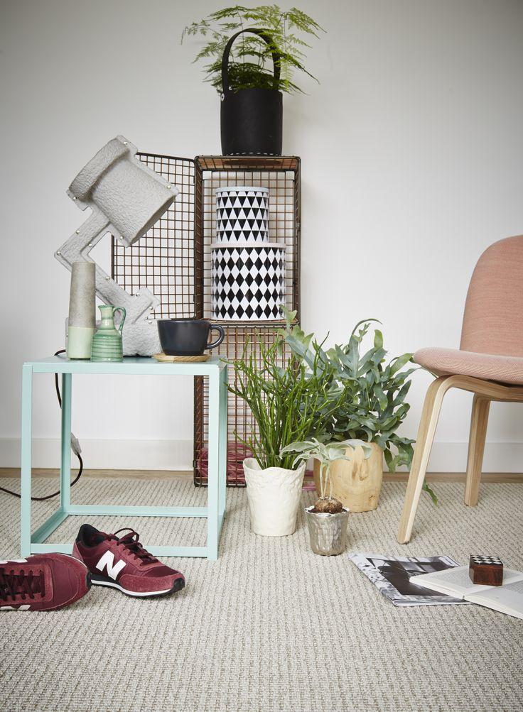 DESSO AirMaster is niet alleen verfrissend voor het binnenklimaat: ook de sfeer in huis knapt op met een stoere lichte basis en meubelen en accessoires in Scandinavische stijl!