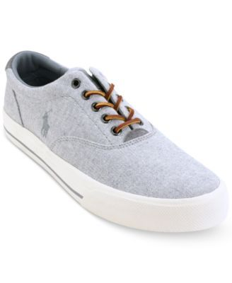 Men\u0027S Vaughn Low-Top Sneakers Men\u0027S Shoes, Grey. Compliments OfPreppy Style Shoes OnlinePolo Ralph ...