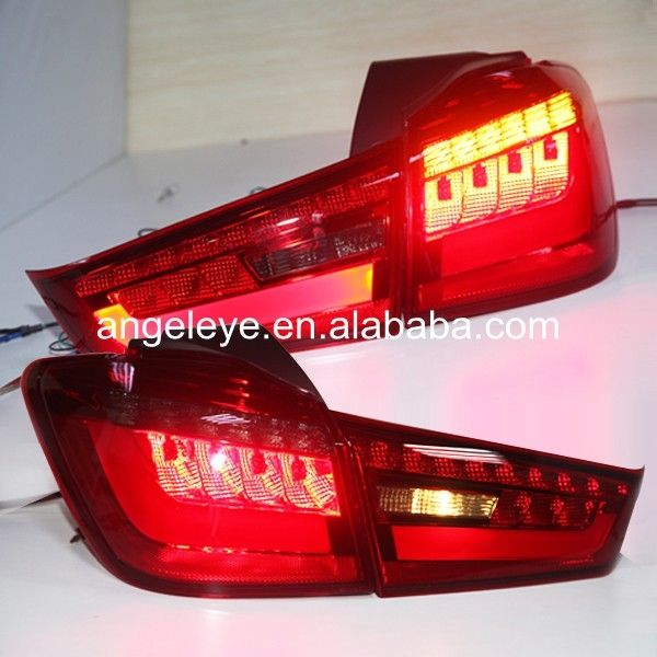 269.88$  Buy now - http://aliix7.worldwells.pw/go.php?t=1000001848108 - 2012-2014 Year For Mitsubishi Outlander Sport ASX RVR LED Back Light Tail Light Red Black Color YZ