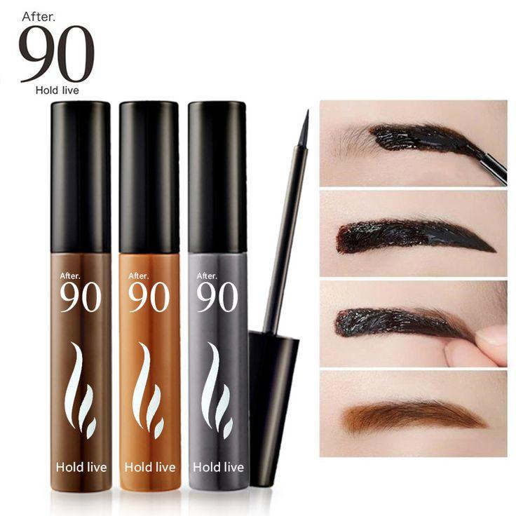 Après 90 Maquillage Teinte des Sourcils Peel Off Sourcils Enhancer Tatouage Gel 3 Couleurs Crème Colorant Imperméable 72 H Long Lasting naturel Sourcils