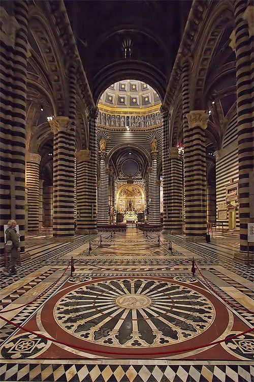 via The Cathedral of Siena 2°, a photo from Siena, Tuscany | TrekEarth)    Siena, Tuscany, Italy