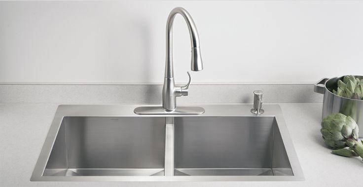 kohler vault kitchen sinks farmhouse style single or dual sink