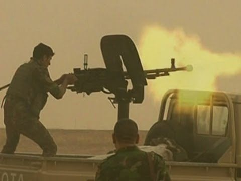 Raw: Kurds Clash With ISIL in #Iraq