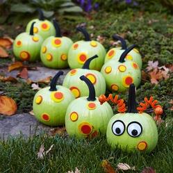 halloweenPainting Pumpkin, Halloween Decor, Cute Ideas, Halloween Crafts, Halloween Pumpkin, Googly Eye, Pumpkin Decor, Hungry Caterpillar, Halloween Ideas