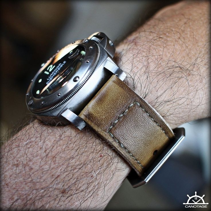 Panerai 25 and Canotage strap