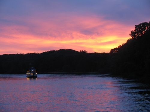 Sunset Dinner cruise aboard the Padelford Riverboats in St. Paul, MN. Tuesdays & Fridays, June through August.Padelford Boats, Cruises Aboard, Padelford Riverboat, Mighty Mississippi, Rivers Crui, St Paul, Mississippi Rivers, Sunsets Dinner, Dinner Cruises