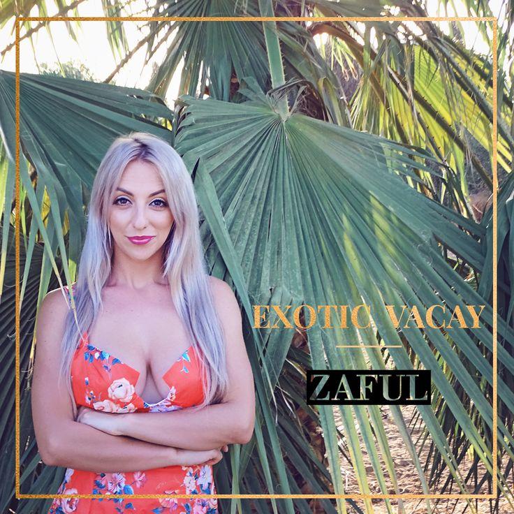 @Zaful http://ladolcevita-lifestyle.com/2017/10/02/exotic-vacay-w-zaful/  #zaful #dress #blogger
