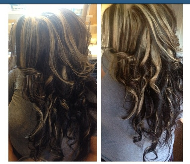 Great hair color & highlights