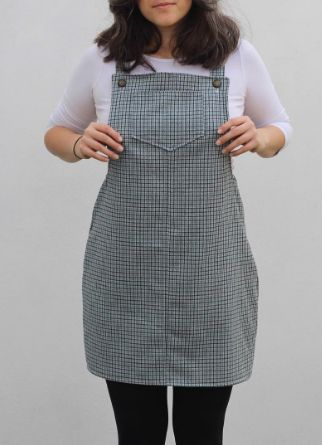 Knitted Yoghurt's Cleo dress - sewing pattern by Tilly and the Buttons