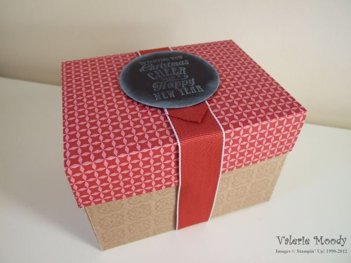 Envelope Punch Board Gift Box - I love box making - come and check out what else I've made - Stamping With Val - Valerie Moody, Independent ...