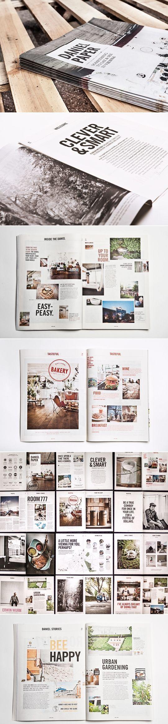 Daniel Paper #layout #design #mag via Behance: