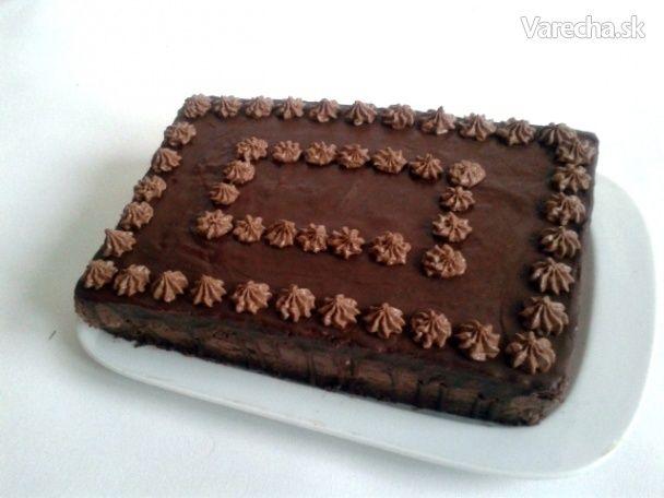Čokoládovo-banánová torta