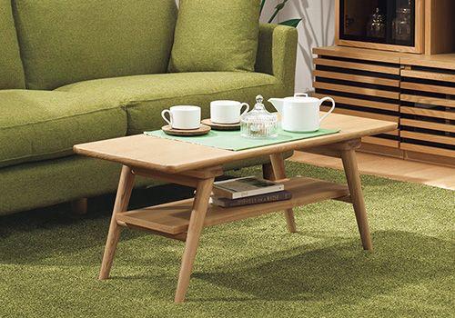 天然木センターテーブル(セーブル NA) 13,797円(税別)