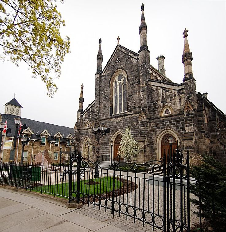 Christ's Church Cathedral, 1835, cathedral church of the Anglican Diocese of Niagara.