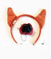 Dress-up Dog Ears and Nose: short pointed ears