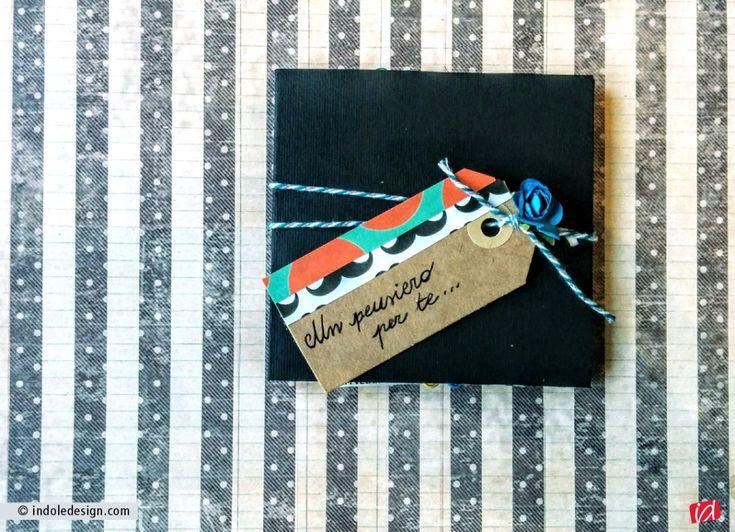 Come creare un piccolo album personalizzato per festeggiare la Festa del papà  - Indole Design