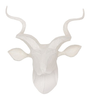 Weylandts Kudu Paper Wall Light R5995  unique locally produced; creates ambience for Indoor use only, with a maximum 40watt (incandescent) or warm CFL (longlife) bulb.