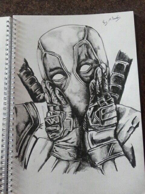 My deadpool drawing
