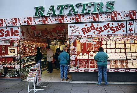 Ratners - remember the famous downfall!