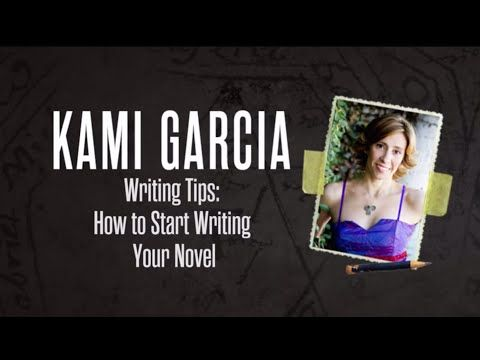 Writing Tips: How to Start Writing Your Novel (NaNoWriMo Edition) - Starting your novel is usually one of the hardest parts. #1 New York Times bestselling author Kami Garcia shares some of her favorite writing craft books and other tips for getting started.