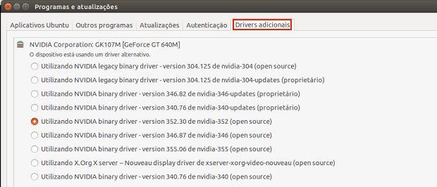 Se você precisa muito usar um dispositivo e o driver de código aberto dele não é suficiente para isso veja como ativar um driver proprietário no Ubuntu.  Como ativar um driver proprietário no Ubuntu  Como desativar driver proprietário no Ubuntu  Drivers da HP: Instale ou atualize o HPLIP no Linux  Como usar scanner de multifuncional HP no Ubuntu  Como instalar o driver Nvidia 370.23 no Linux  Drivers da Canon  veja como instalar o suporte a impressora ou scanner  Como instalar o driver para…