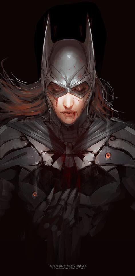 Batgirl Concept art