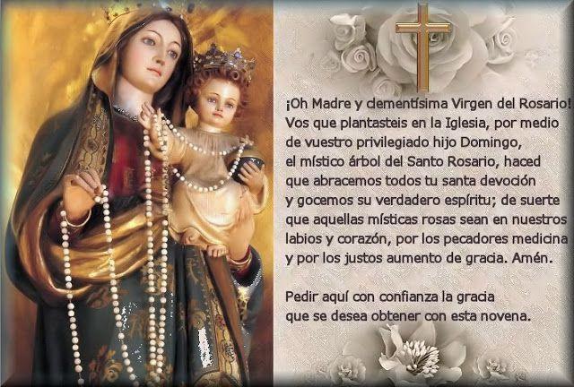 Oraciones A La Virgen María Oracion A La Virgen Oraciones Oración De Sanación