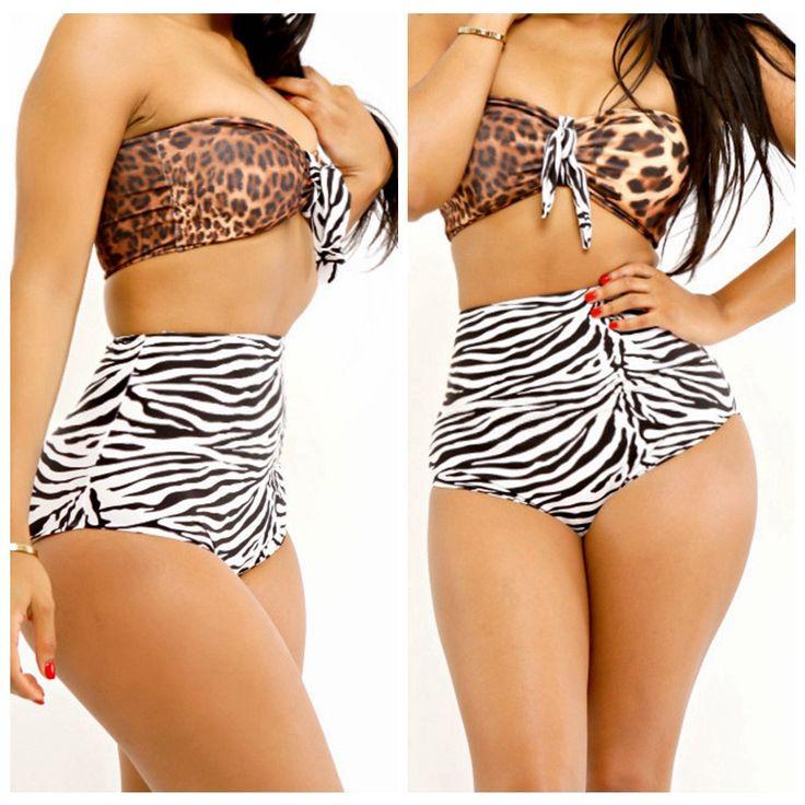 Sexy Backless Tight Bikini Set Swimsuit Swimwear