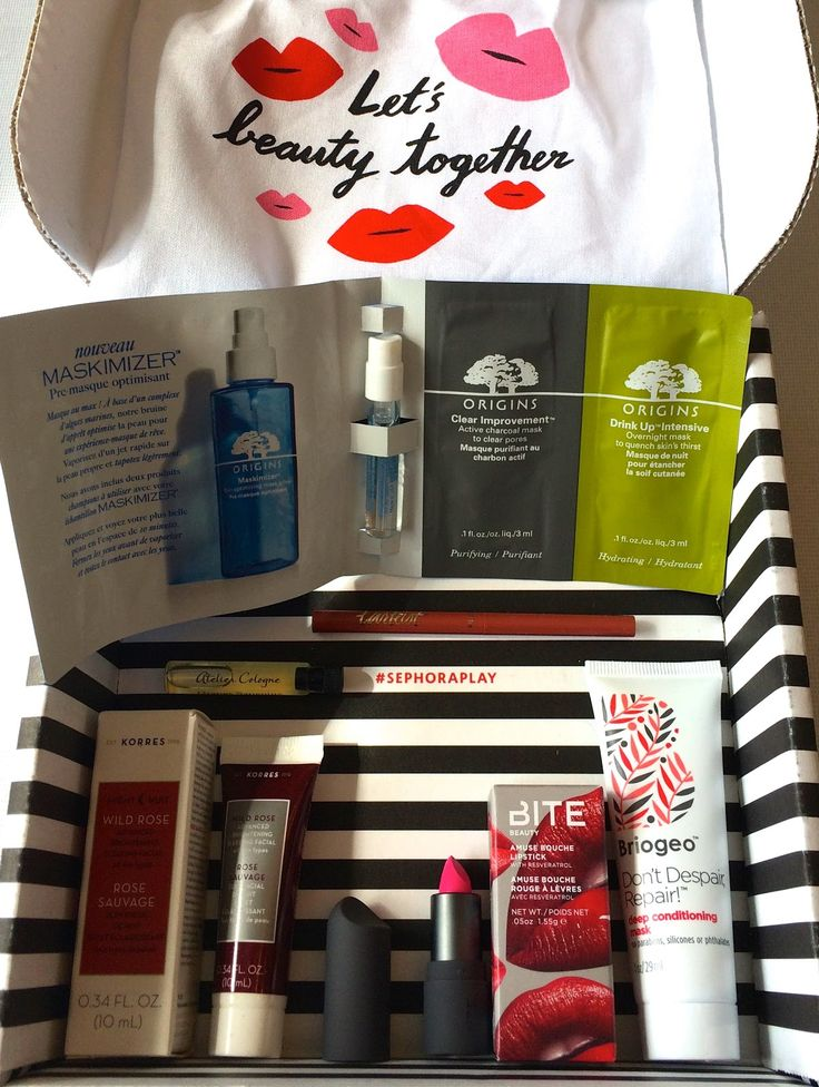 Play! by Sephora Subscription Box Review - May 2016