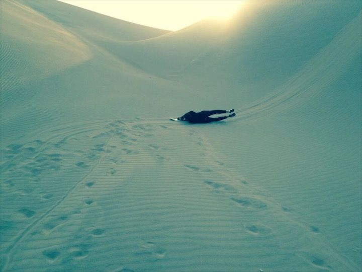 SURFING (Ica Desert, 2014) #ica #icadesert #peru #sandboard #sunset #desert #photography #photo #pic #iPhone #iPhone4s #iPhonePhotography