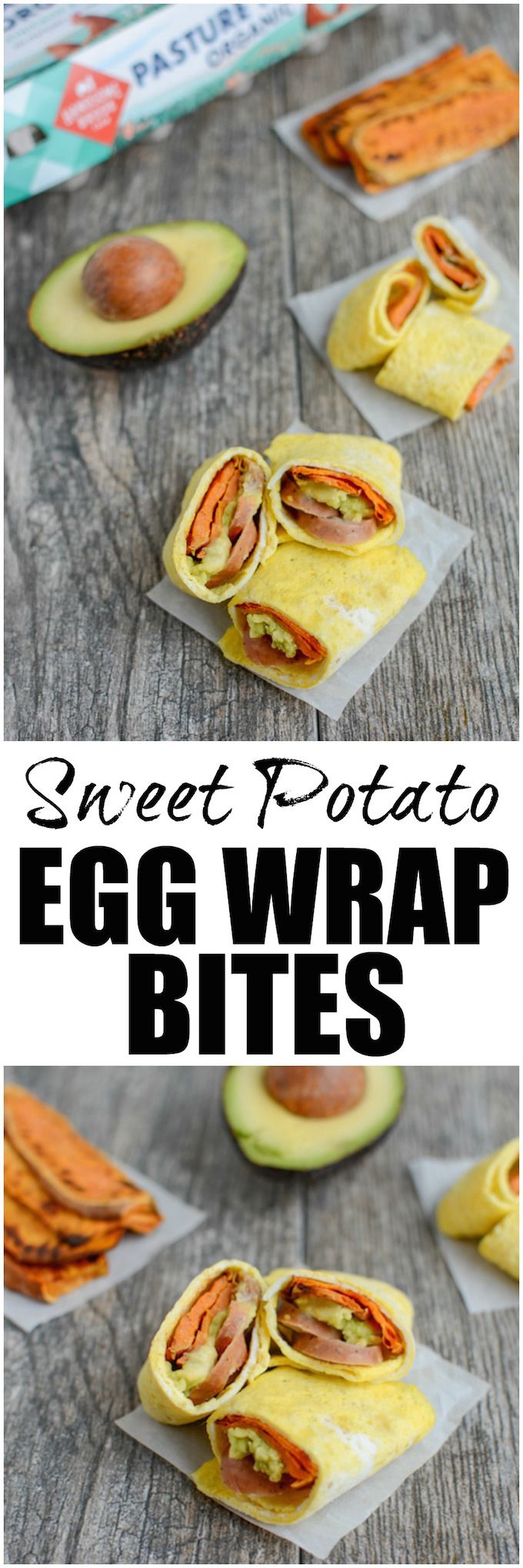 These Sweet Potato Egg Wrap Bites make an easy, healthy breakfast, lunch or snack. They're kid-friendly and can be prepped ahead of time so they come together quickly! (AD) @handsomebrook