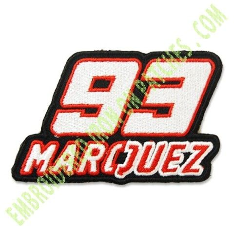 MARC MÁRQUEZ MARQUEZ 93 MOTOGP LOGO EMBROIDERY EMBROIDERED IRON ON PATCHES OR SEW