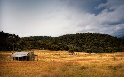 Landscape from the Namadgi National Park, ACT.