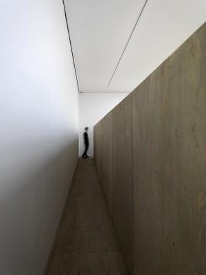 miroslaw balka – 190 x 90 x 4973 – 2008 – 190 x 90 x 4973 cm – plywood, scaffolding & ash