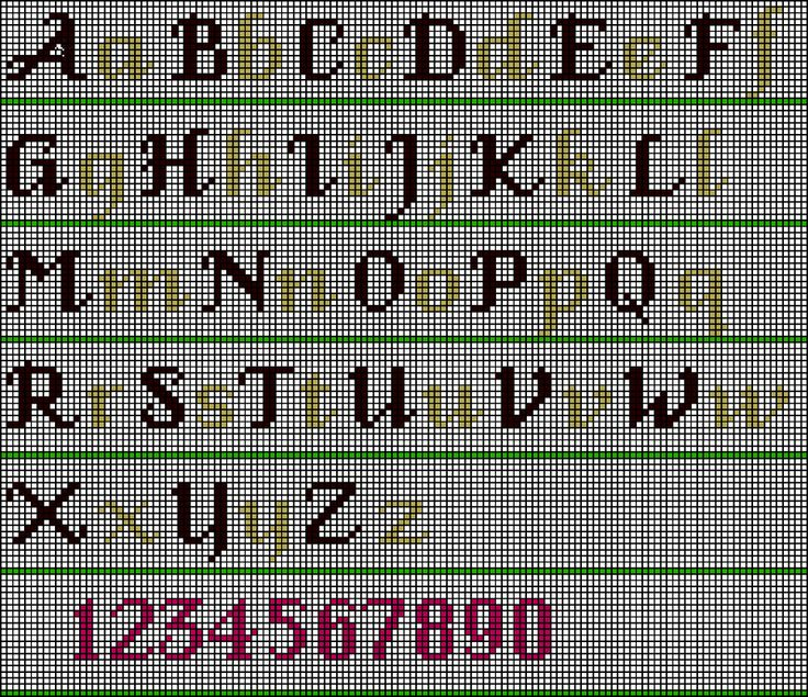 cs1 - Fancy Alphabet — Wonderful Stitches