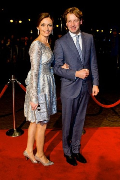 Prince Floris and Princess Aimee of The Netherlands attend the kingdom's concert in The Netherlands, 30.11.13